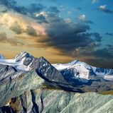 Evening in a mountains Royalty Free Stock Photography