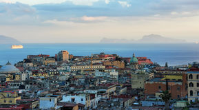 Evening Naples, Italy Stock Photo