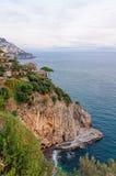 Evening near Positano - Amalfi Coast Stock Photos