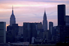 Evening New York Royalty Free Stock Image