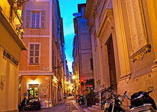 The evening in Nice Royalty Free Stock Photos