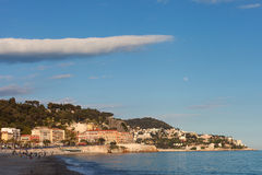 Evening in Nice, France. Royalty Free Stock Image