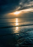 Evening ocean Royalty Free Stock Photography