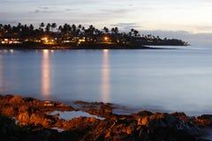 Evening Over Napili Bay Stock Images