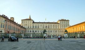 Evening over Turin Royalty Free Stock Photo