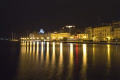 Evening panorama of Sibenik Royalty Free Stock Photo