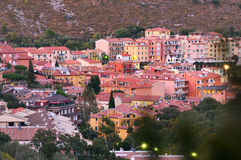Evening panorame of Porto Ercole Stock Image