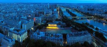 evening paris Όψη Στοκ Φωτογραφίες