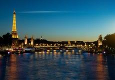 Evening in Paris Royalty Free Stock Photos