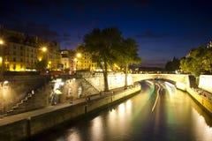 Evening Paris, France Royalty Free Stock Photo