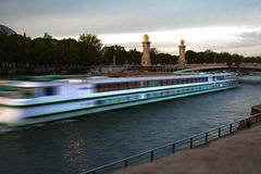 Evening in Paris. Royalty Free Stock Photos
