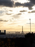Evening in Paris royalty free stock images