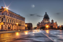 Evening Petersburg Stock Photography