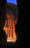 Evening in Petra Royalty Free Stock Image
