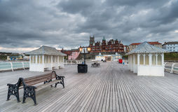 Evening on the Pier Royalty Free Stock Photos