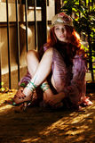 Evening portrait Stock Photo