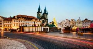 Evening Prague Stock Image