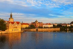 Evening Prague Stock Photos