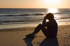 Evening Prayer stock photos
