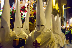 Evening procession during Semana Santa Stock Photo