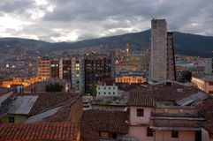 Evening Quito. Quito on evening - very quiet and beautiful Royalty Free Stock Photos