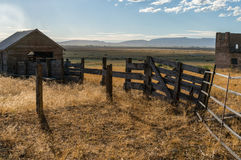 Evening ranch scene Stock Images