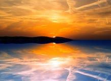 Evening, Reflection, Sunset, Sky Royalty Free Stock Photo