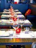 Evening in restaurant Stock Image