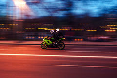 Evening ride Royalty Free Stock Photography