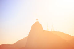 Evening Rio hills abstract shot Royalty Free Stock Photo