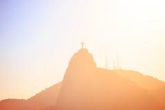 Evening Rio hills abstract shot Royalty Free Stock Photo