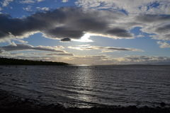 Evening on river Forth Royalty Free Stock Photos