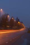 Evening road Stock Photo