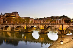 Evening Rome Stock Photography