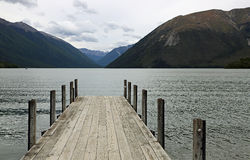 Evening on Rotoiti Lake Stock Images