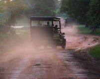 Evening safari in the savanna Royalty Free Stock Image