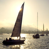 Evening Sail Royalty Free Stock Image