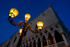 Evening at San Marco square Stock Photos