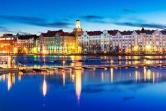 Evening scenery of Helsinki, Finland Stock Photography