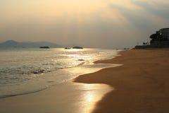 Evening sea stock photos