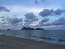 Evening sea Stock Photo