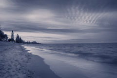 In the evening, the sea Brisbane Royalty Free Stock Photography