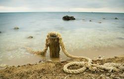 Evening sea coast Royalty Free Stock Photography
