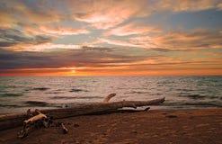 Evening sea-piece Stock Photo