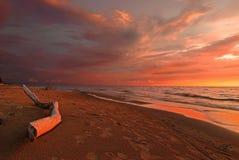 Evening sea-piece Stock Photography