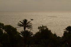 Evening sea Stock Photography