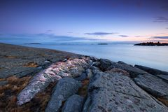 Evening seascape Stock Image