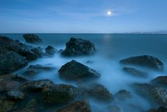 Evening seascape Royalty Free Stock Photo
