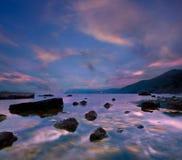 Evening seascape Stock Photo