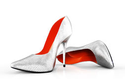 Evening shoes Royalty Free Stock Image